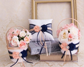 Flower Girl Basket Ring Bearer Pillow